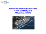 Презентация Fukushima Daiichi Nuclear Plant Event Summary and FPL/DAEC Actions