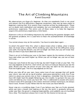 the-art-of-climbing-mountains daumal