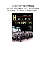 Harun Yahya. Holocaust Deception