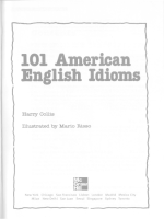 McGraw-Hill 101 American English Idioms - 135p