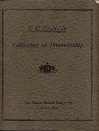 Canan, CC - Collection of Penmanship