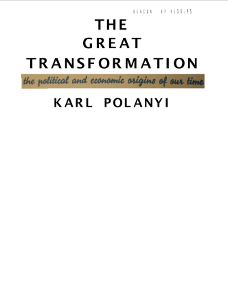 KarlPolanyi The-Great-Transformation book