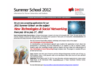 summer school invite