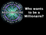 "ИГРА ""Who wants to be a millionaire?"""