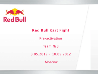 Preactivation report RBKF team 3 (2)