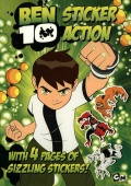 BEN 10 2008 STICKER ACTION
