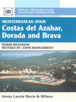 Imray Mediterranean Spain Costas del Azahar Dorada and Brava 4ed 2002 0852886217