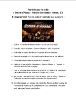 Section d assaut (B1)