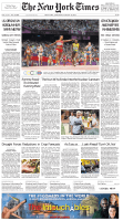 The New York Times - Saturday, August 11, 2012