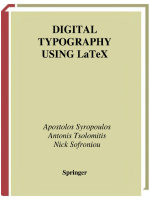 Digital Typography Using Latex. 2003