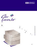 user guide HP 4500