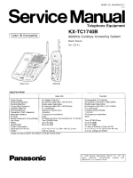 Panasonic KX-TC1740
