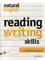 Natural Reading and Writing Skills Resource.Book