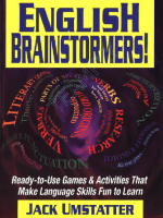 English Brainstormers Ready-to-Use Games and Activities that Make Language Skills Fun to Learn