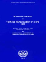 1060562 0ED94 international maritime organisation tonnage measurements of