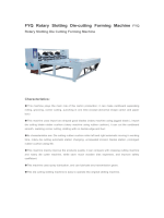 FYQ Rotary Slotting Die-cutting Forming Machine