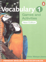 vocabulary games and activiti
