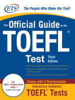 The.Official.Guide.to.the.TOEFL.iBT,Third.Edition