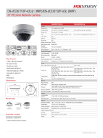 Datasheet of DS-2CD2732F-I(S) - Hikvision
