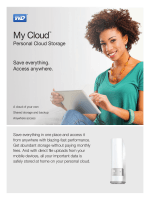 My Cloud™ Personal Cloud Storage - Product - Western Digital