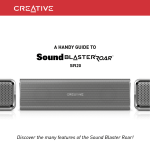 A HANDY GUIDE TO Discover the many features of the Sound
