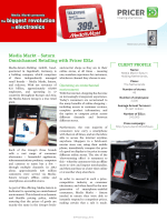 Media Markt – Saturn Omnichannel Retailing with Pricer ESLs