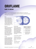 ORIFLAME - Heartbeats International AB