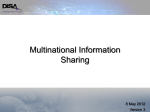 Multinational Information Sharing - Defense Information Systems