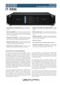 Download the FP 10000Q Technical Data sheet - Lab.gruppen