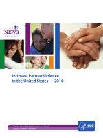 Intimate Partner Violence In the United States – 2010 - Centers for