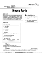 mouse party.indd - Teach Genetics (Utah) - University of Utah