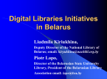 Digitization in Belarus