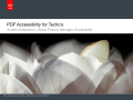 Accessibility for Techo&#39