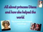 All about princess Diana and how she helped the world - Dynamic