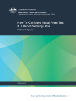 How to get More Value from the ICT Benchmarking Data