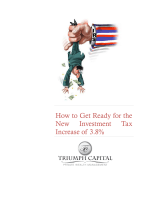 How to Get Ready for the New Investment Tax Increase of 3.8%