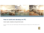 How to build and develop an IFC - Caribbean Export Development