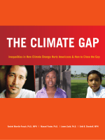 Inequalities in How Climate Change Hurts Americans  How to