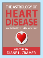 SAMPLE - The Astrology of Heart Disease - how to identify it in the