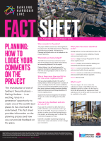 PLANNING: HOW TO LODGE YOUR COMMENTS ON THE PROJECT