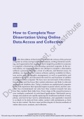 How to Complete Your Dissertation Using - Sage Publications