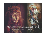 WWW GAIANSOUL COM s HOW TO MAKE A SPIRIT DOLL s