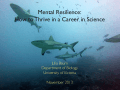 Mental Resilience: How to Thrive in a Career in Science
