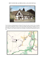 HOW TO FIND THE ALE HOUSE, MILL LANE - West Mercia Area