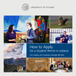 How to Apply - University of Iceland