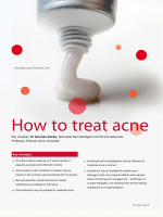 How to treat acne - Bpac