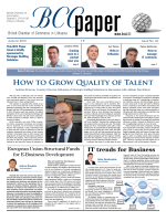 How to Grow Quality of Talent - British Chamber of Commerce in