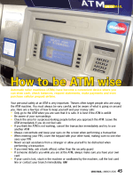 How to be ATM wise - Ubisi Mail Magazine