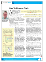 How To Measure Static - Electrostatic Answers