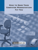 How to make your computer workstation fit you - WorkSafeBC.com